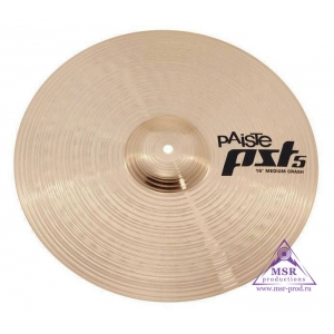 "Paiste 16"" PST5 Medium Crash"