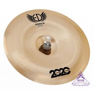 "ED Cymbals 2020 Brilliant China 16"""
