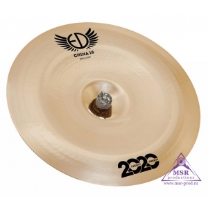 "ED Cymbals 2020 Brilliant China 18"""