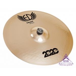 """ED Cymbals 2020 Brilliant Crash 17"""""""