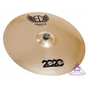 """ED Cymbals 2020 Brilliant Crash 18"""""""
