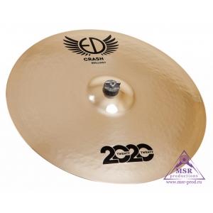 """ED Cymbals 2020 Brilliant Crash 19"""""""