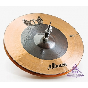 "ED Cymbals Alliance 2017 Hi-Hat 14"""