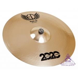 "ED Cymbals 2020 Brilliant Ride 20"""