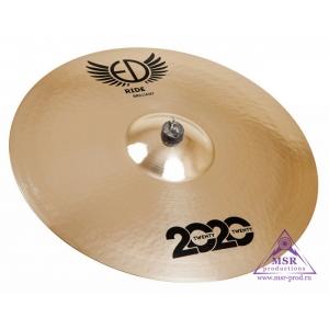 "ED Cymbals 2020 Brilliant Ride 22"""