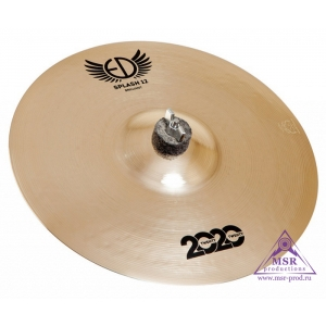 "ED Cymbals 2020 Brilliant Splash 12"""