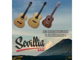 Поступление гитар Sevillia!