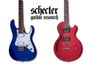 Поступление гитар Schecter!