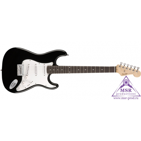 FENDER SQUIER MM STRATOCASTER HARD TAIL BLACK